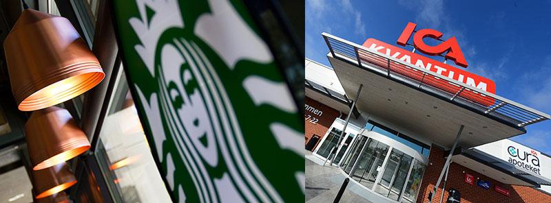 Starbucks nr två har öppnat hos Ica