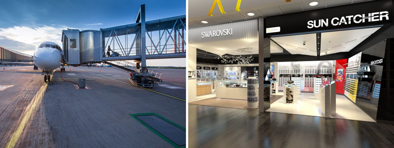 Arlanda öppnar exklusiv shoppinggata