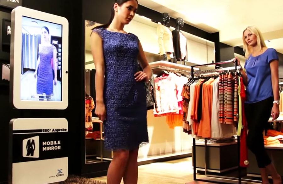 Digital spegel stärker shoppingupplevelsen