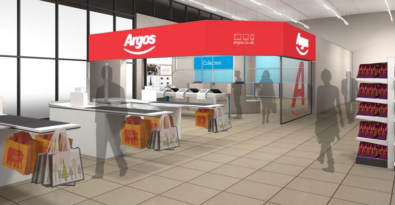 Kedja öppnar digitala butiker i supermarkets