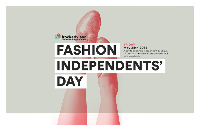 I dag lanseras Fashion Independents' Day