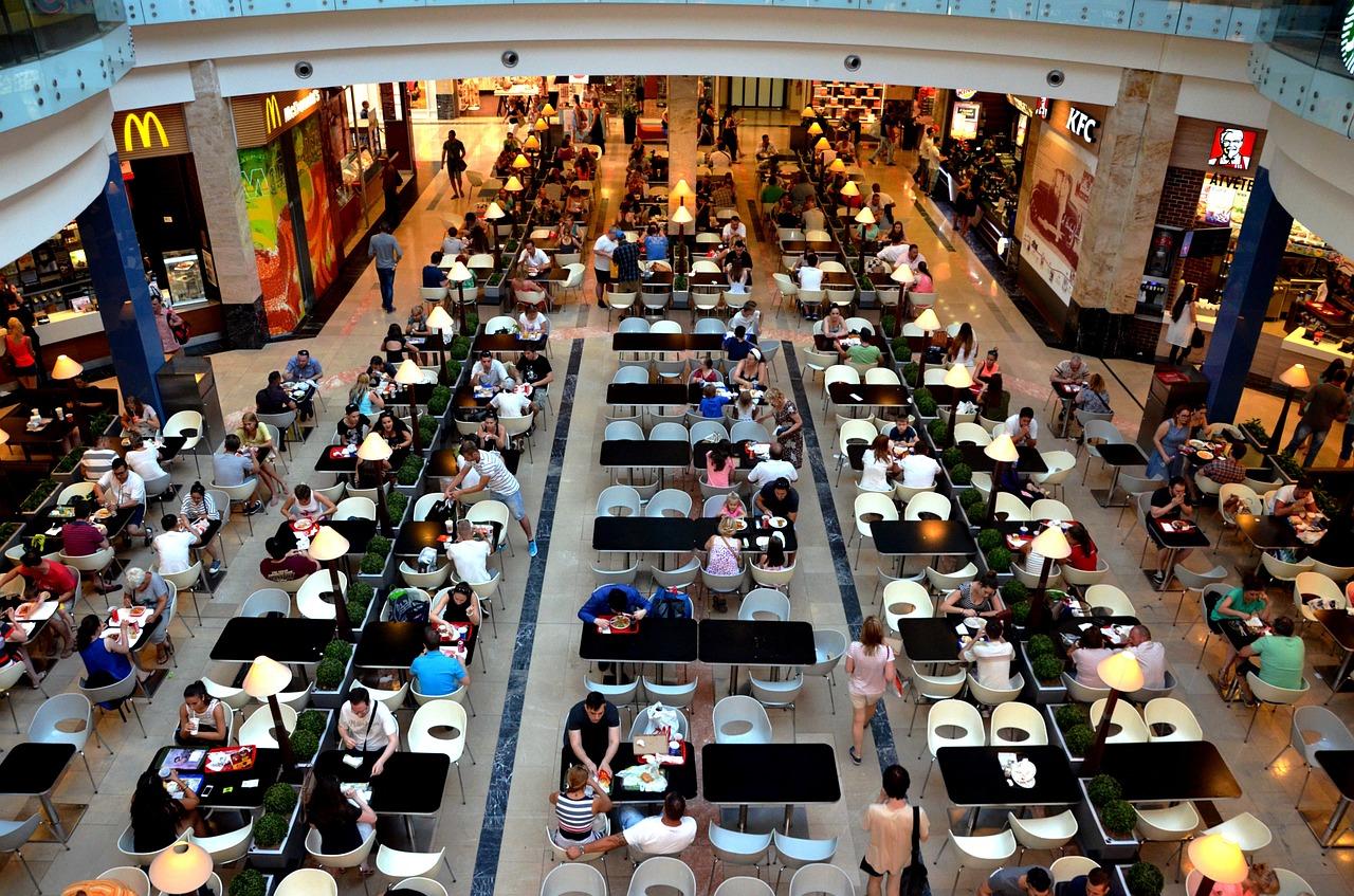 Fler besök i Europas köpcentrum