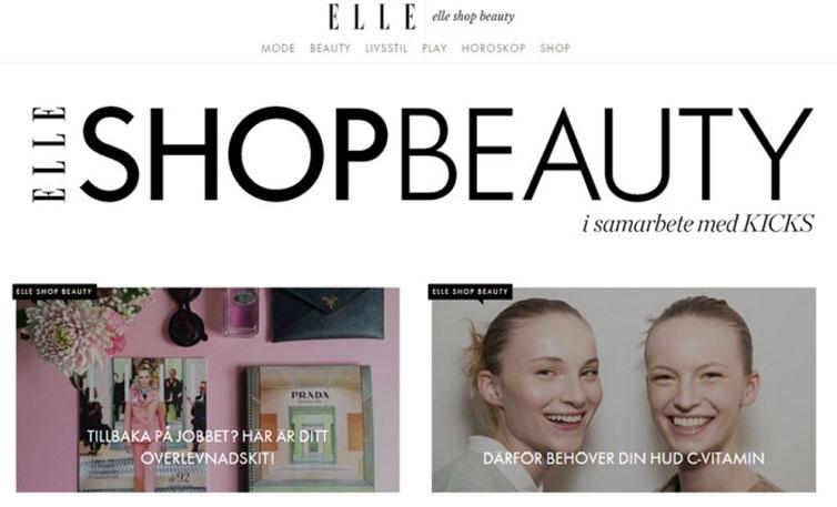 Elle öppnar e-butik med Kicks