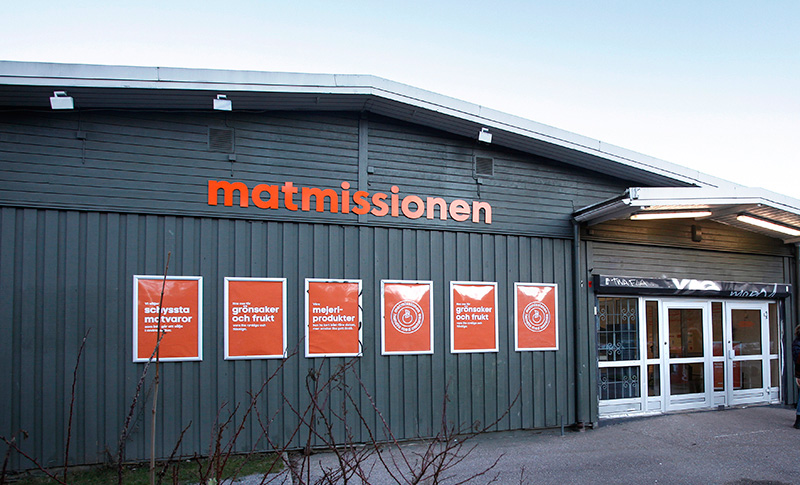 Nordens första sociala supermarket