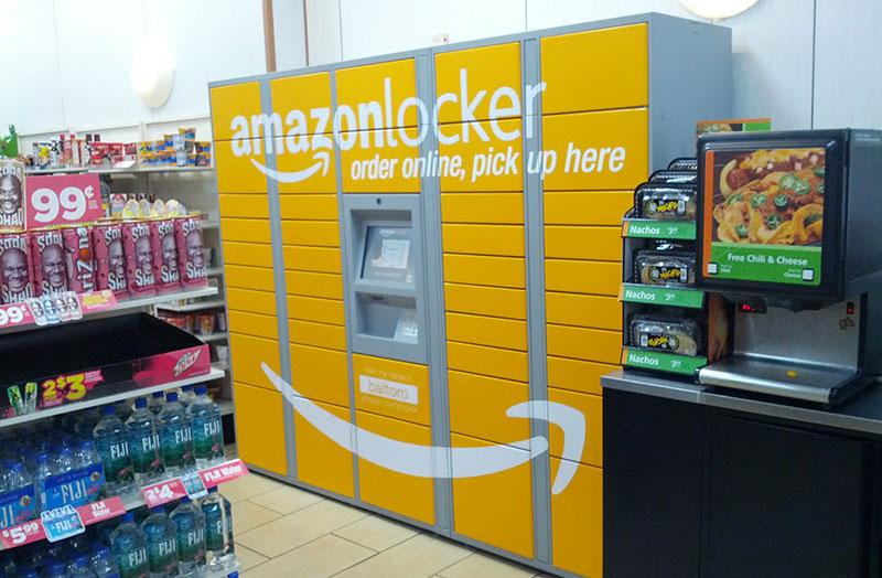Amazon lanserar varuskåp i Europa
