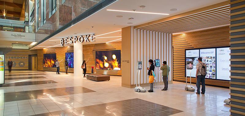 Bespoke ger köpcentrumet en ny roll