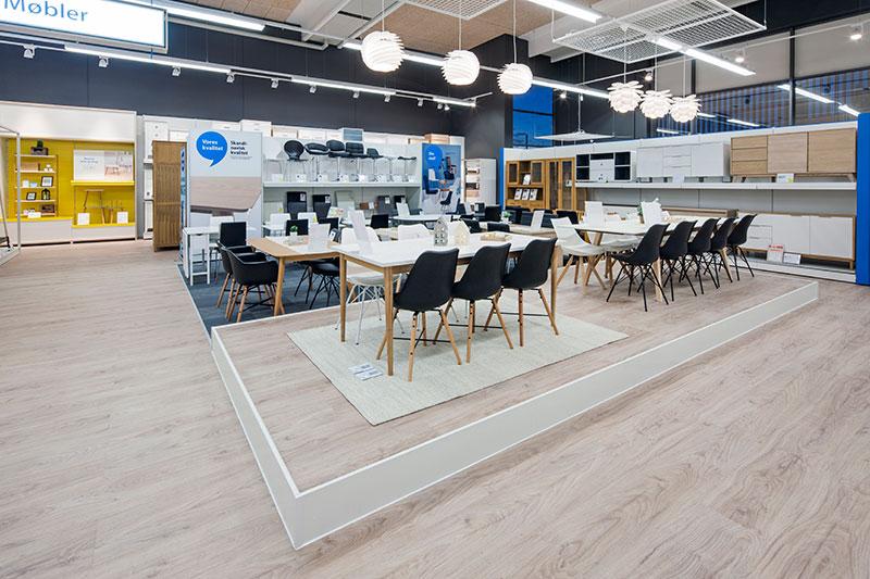 Jysk vill inspirera mer i nytt butikskoncept