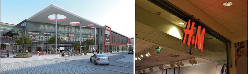 H&M utökar i nya Malmö Plaza