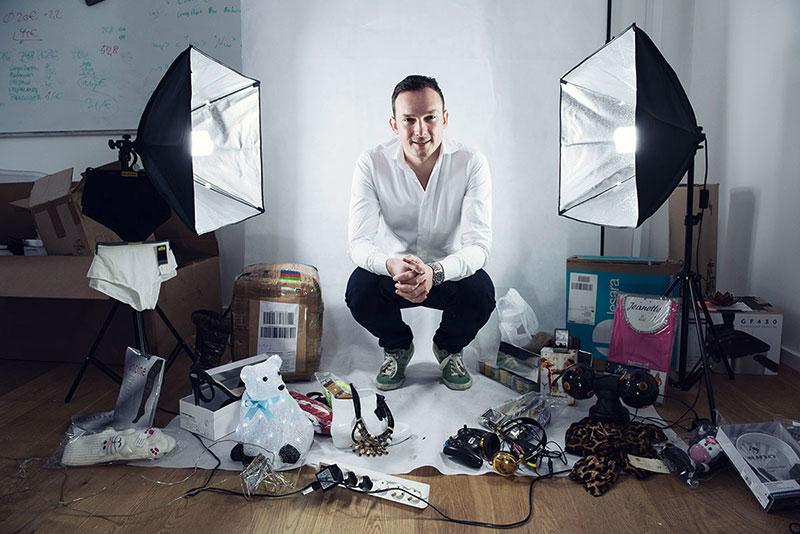 Han utmanar Zara och H&M med snabbhet