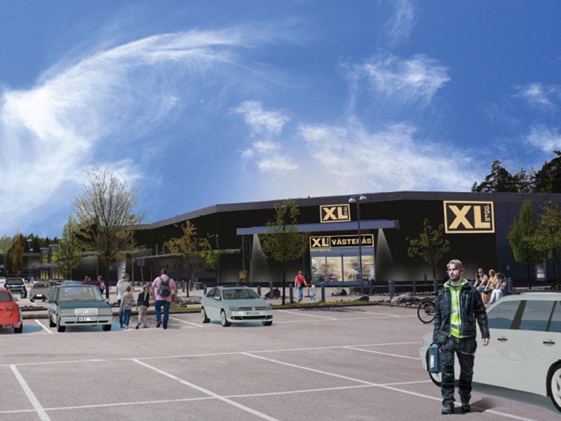 Storbutik för XL-Bygg i Västerås