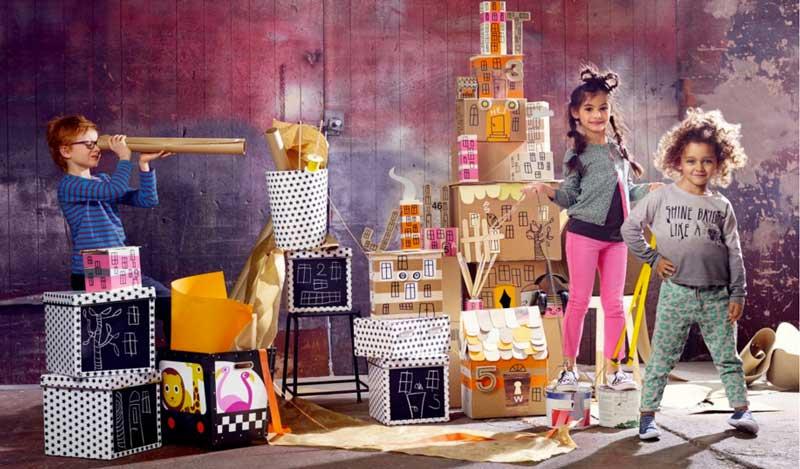 Åhléns lät barn designa egna produkter