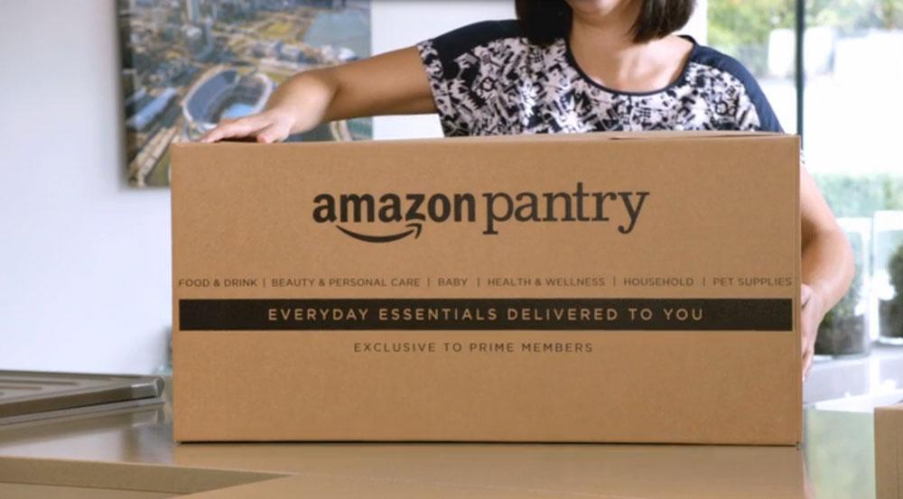 Amazons färskvaror pressar matbutiker
