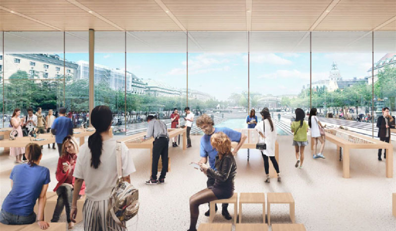Apple vill öppna spektakulär butik vid Kungsträdgården