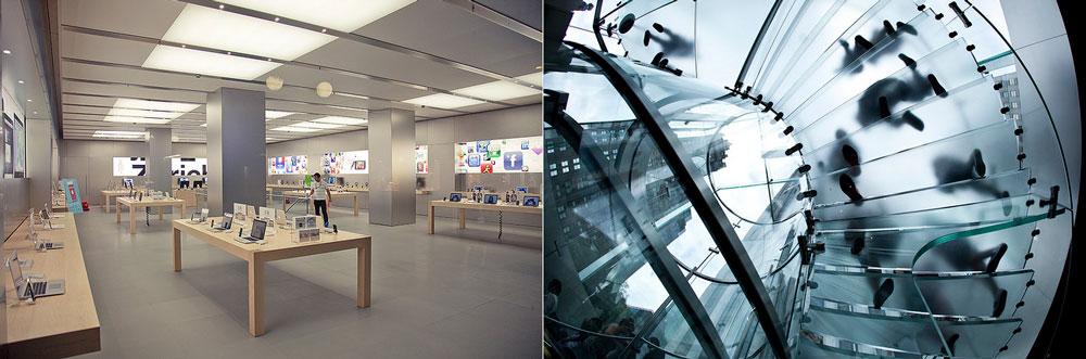 Apple Store ger köpcentrum framgång