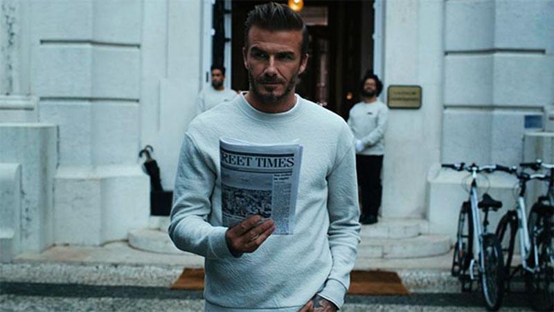 Alla vill se ut som Beckham