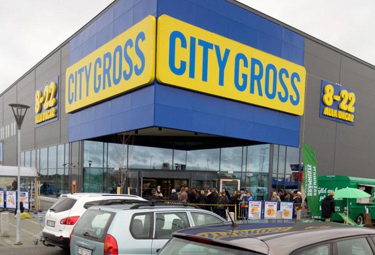 City Gross öppnar i Trollhättan