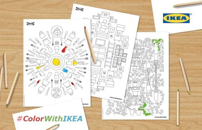Meditera med Ikeas mönster
