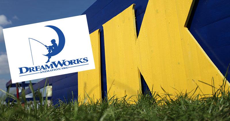 Ikea i samarbete med Dreamworks Animation