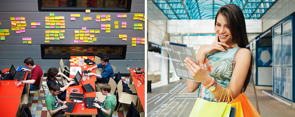 Hackathon tar sig an framtidens retail