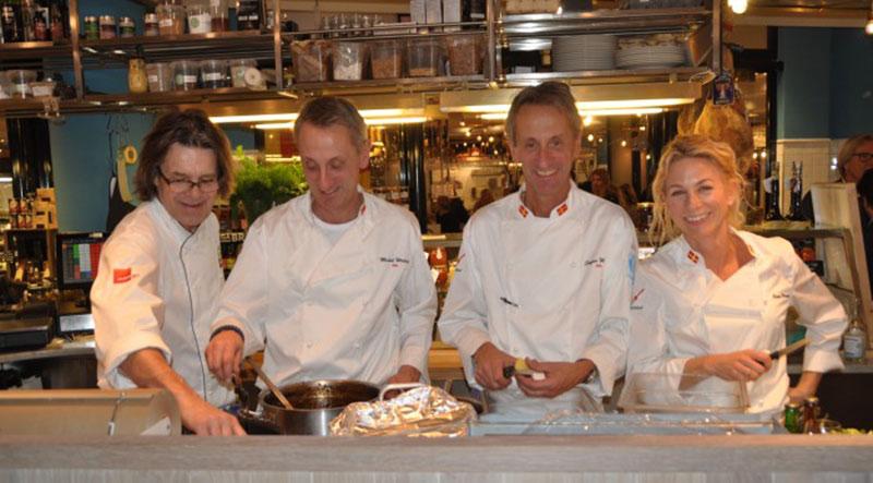 Ica-handlare gästspelade på Sturehof