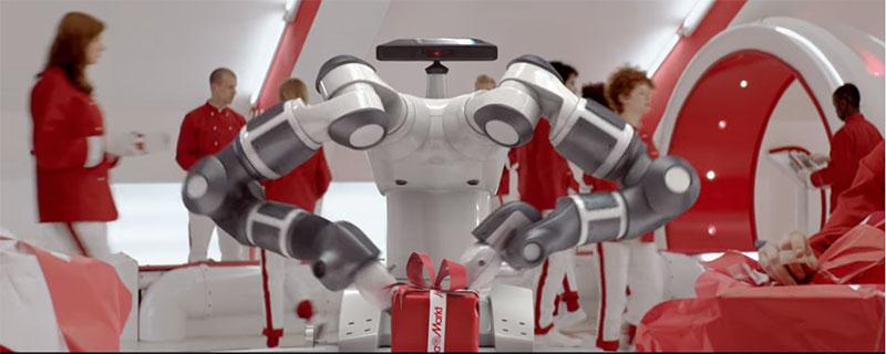Klappat och klart med Media Markts robot