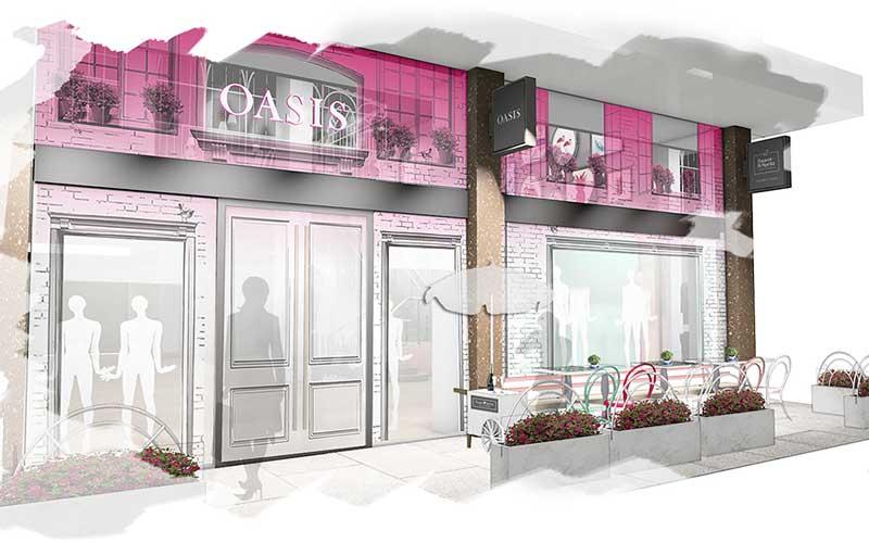 Oasis öppnar flaggskepp med prosecco-bar