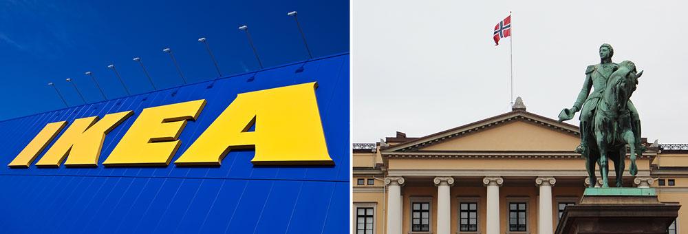 Ikea öppnar click & collect i centrala Oslo