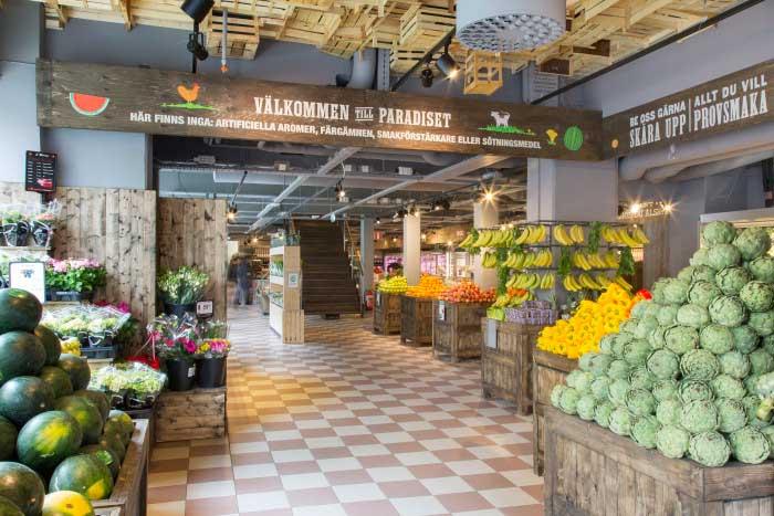 Paradiset öppnar ytterligare en matmarknad