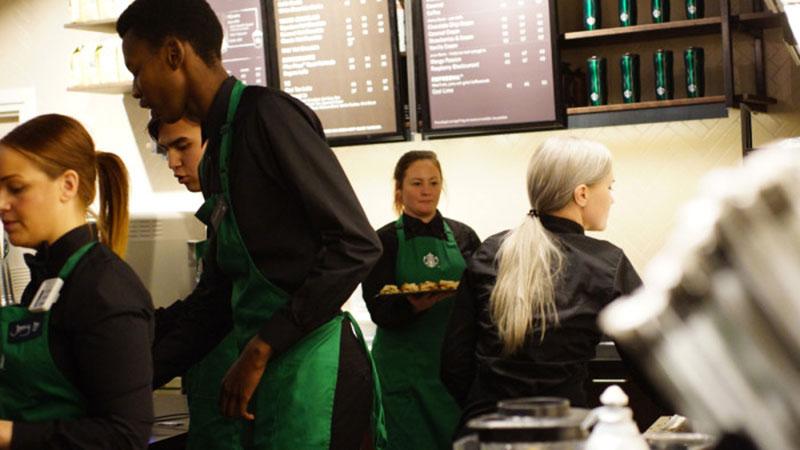 Idag öppnar Starbucks i Uppsala
