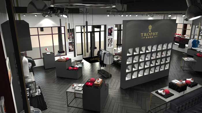Michael Jordans son öppnar sneakerbutik