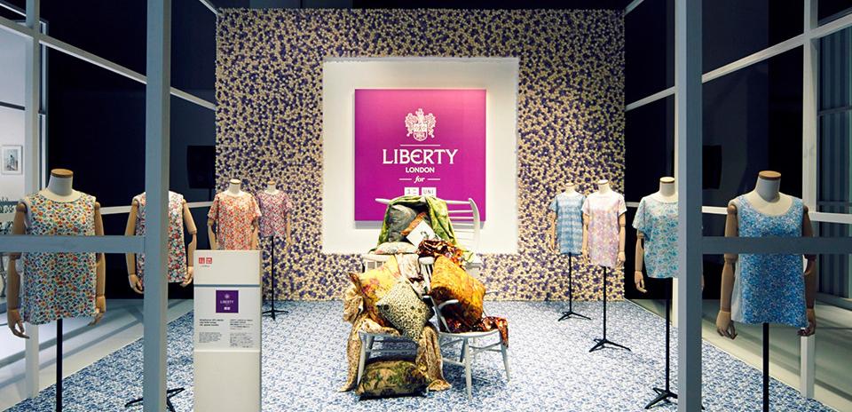 Uniqlo i samarbete med Liberty