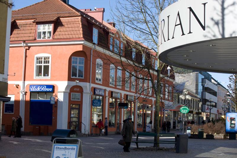 Upplevelsekonsumtionen ökar i Växjö city