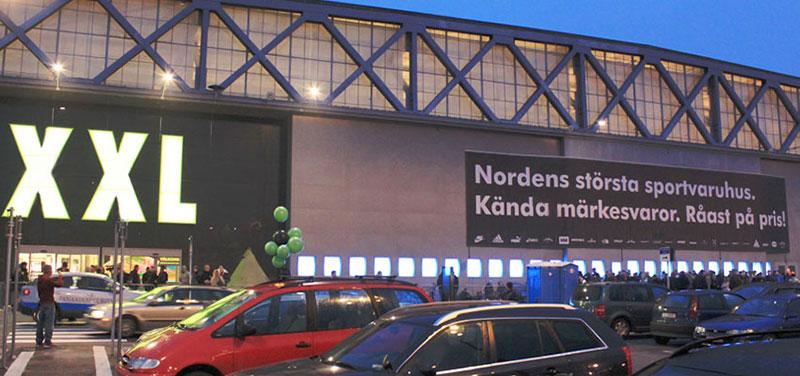 XXL öppnar e-handel i Danmark