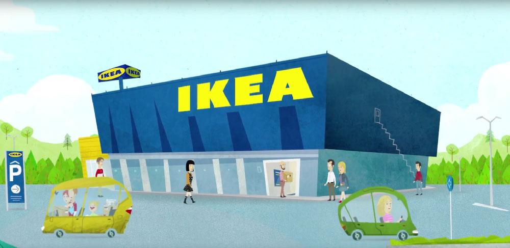 Här öppnar Ikeas första Pick up-butik