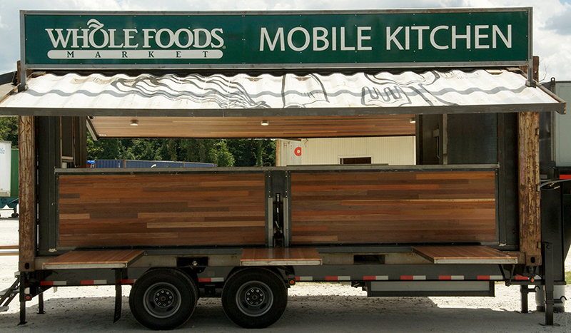 Whole Foods experimenterar i food truck
