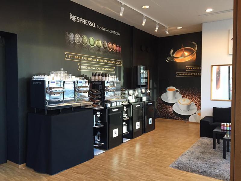 Nespresso öppnar showroom i Malmö