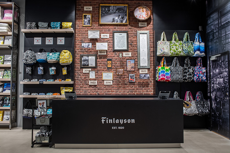 Finlaysons första butik i Sverige
