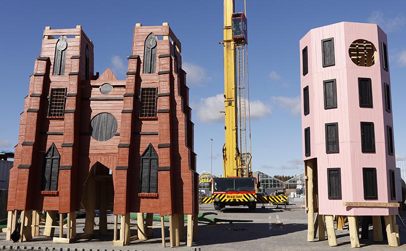 Ny spektakulär lekplats i Gränbystaden