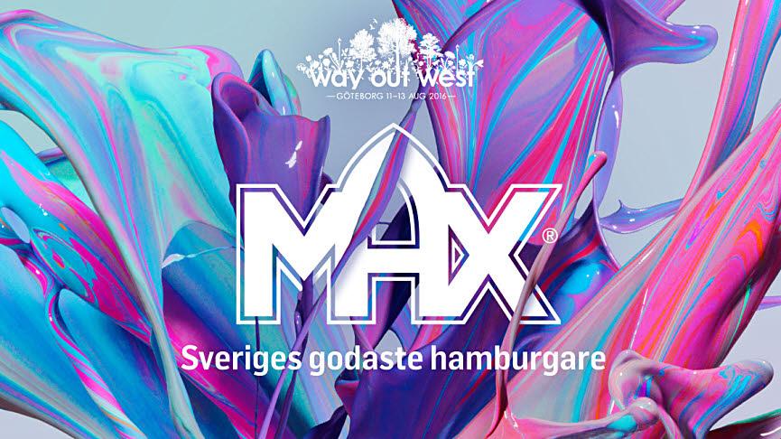 Världspremiär för vegetarisk Maxrestaurang