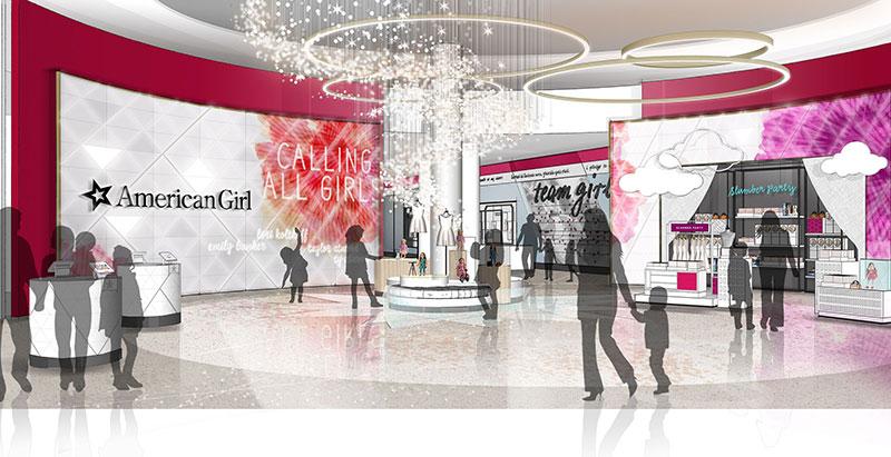 American Girl öppnar framtidens butik