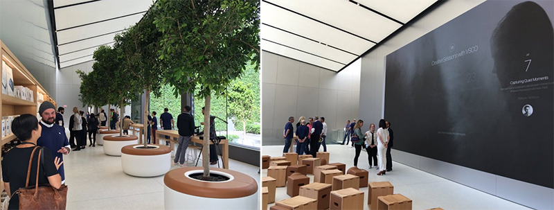 Så ser nya Apple Store ut