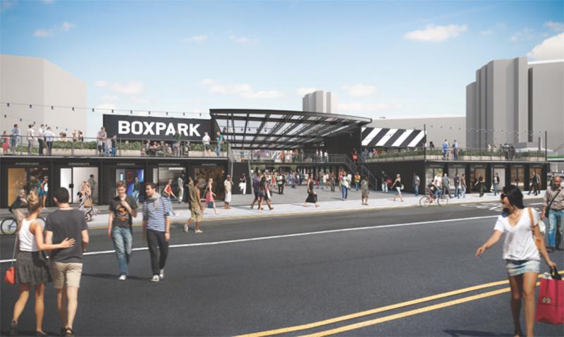 Stort intresse för Boxparks nya projekt