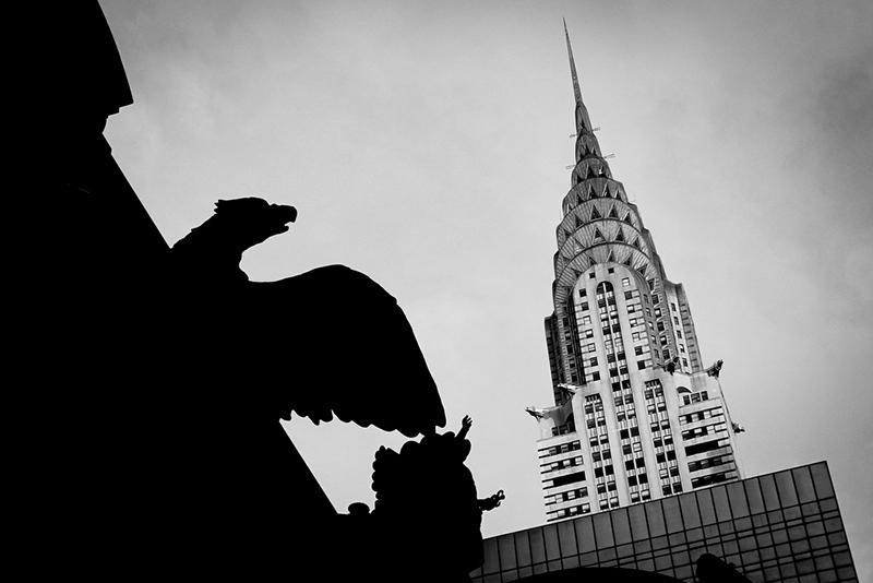 Butiken en blinkning till Chrysler Building