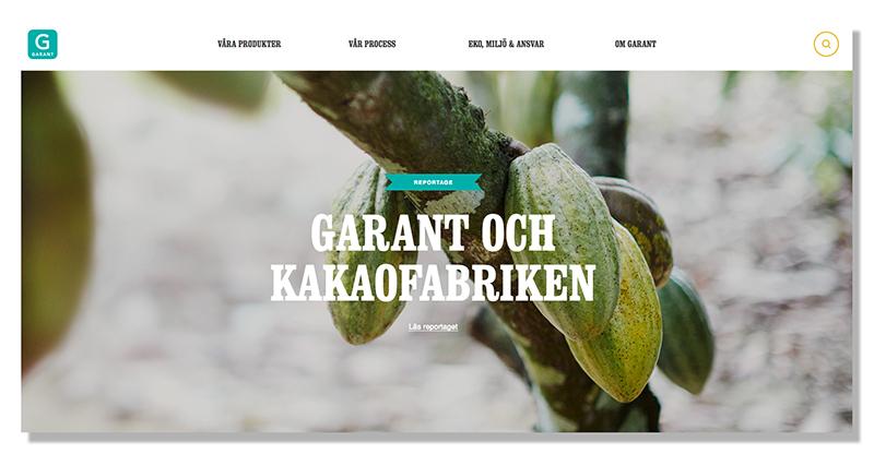 Här är tankarna bakom Garants nya hemsida