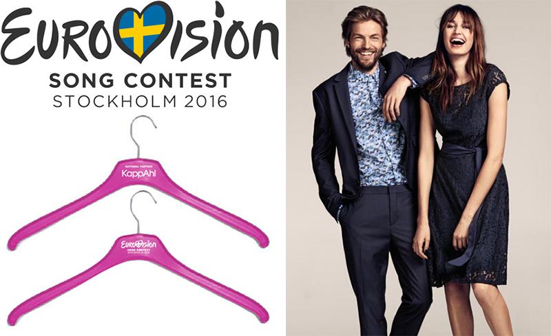 KappAhl partner till Eurovision 2016