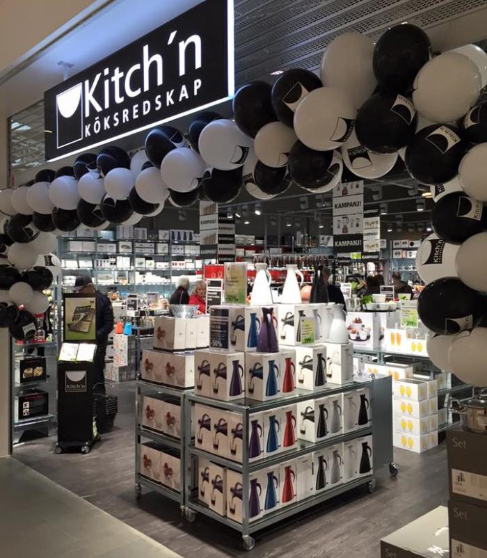 Kitch'n öppnar i Sollentuna Centrum