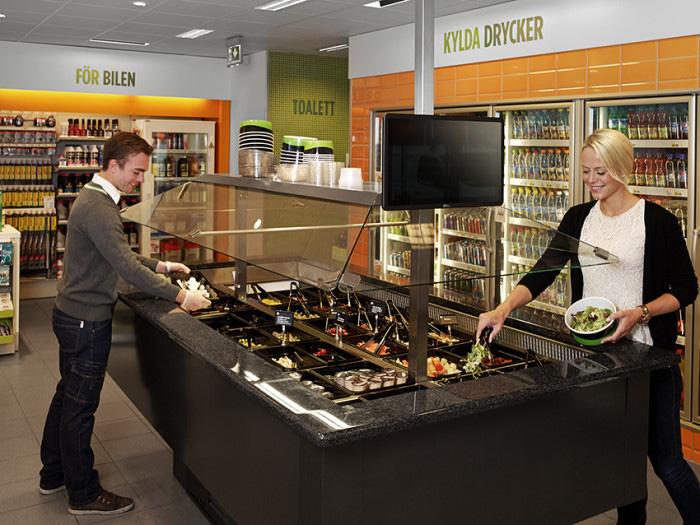 Fresh food lyfter trafikbutikernas försäljning