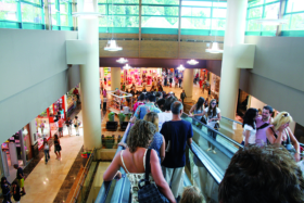 Köpcentrum satsar på sensorteknik