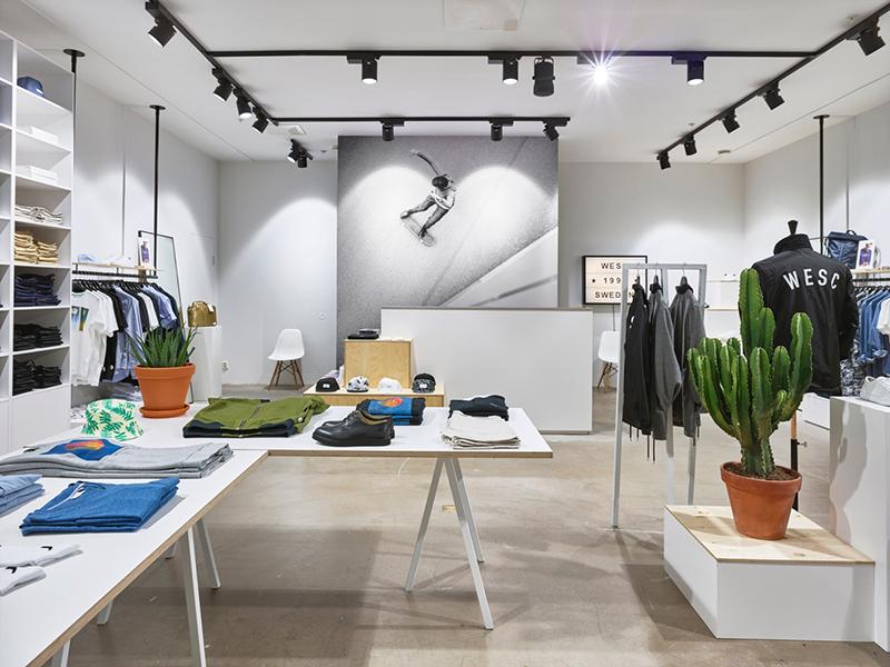 Wesc har öppnar nytt butikskoncept