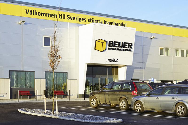 Beijer öppnar byggvaruhus i Mölndal